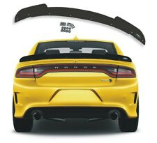 (10) 1 PC 2015+ Dodge Charger Wicker Bill Spoiler by PSDesigns SRT  COMBO PACK