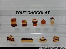 SERIE COMPLETE DE FEVES TOUT CHOCOLAT-GATEAUX