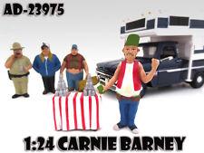 "CARNIE BARNEY ""TRAILER PARK"" FIGURE FOR 1:24 SCALE MODELS AMERICAN DIORAMA 23975"