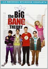 THE BIG BANG THEORY La Seconda Stagione Completa - 4 DVD - Cofanetto ITALIANO