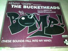 THE BUCKETHEADS - THE BOMB - POSITIVA DANCE CD SINGLE