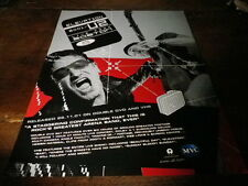 U2 - Publicité de magazine / Advert !!! LIVE FROM BOSTON !!! UK !!!