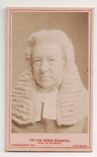 Vintage CDV George Bramwell, 1st Baron Bramwell  English judge.