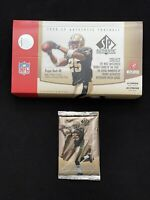 1 Upper Deck 2006 SP Authentic Pack (1) Possible Rookie Auto or Tom Brady Relic*