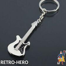 E-Gitarre Schlüsselanhänger Keyring Keychain Anhänger Key Gitarre Musik Rock