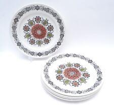 Fab Mid Century Vintage 'Romany' Design Kathie Winkle Broadhurst Dinner Plates