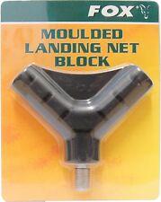 Fox V-Block Moulded Landing Net Block für Kescher, Karpfenkescherkopf