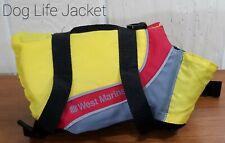 West Marine Reflective Dog Life/Preserver Jacket Adjustable Straps X-Small