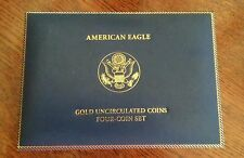 2006 -GOLD AMERICAN EAGLE (4-pc Set Mint Packaging)  NO COINS!