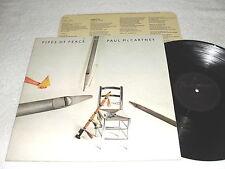 "Paul McCartney ""Pipes of Peace"" 1983 Rock LP, VG+, UK Press-Parlophone, Beatles"