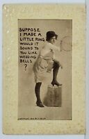 Suppose I Made a Little Ring Advertising G Cramer Plate Co St Louis Postcard N15