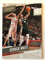 Derrick White rookie card 2017-18 Panini Prestige #178 San Antonio Spurs