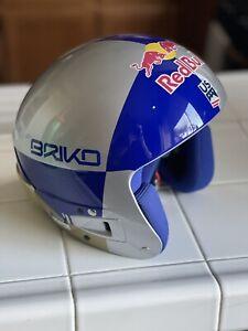 FW20 Briko 2019-2021 Helmet Volcano Fis 6.8 RB Lvf Lindsey Vonn Red Bull Fluid