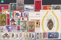 BRD Jahrgang 1976 postfrisch mit Block 12 + 13