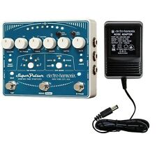 Electro-Harmonix EHX Super Pulsar Stereo Tap Tremolo Guitar Effect Pedal DEMO
