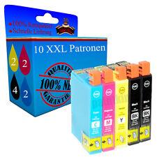 10x Drucker Patronen für Epson WorkForce WF2700 WF2750 DWF WF2760 WF Tinte