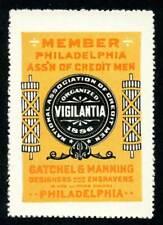 USA Poster Stamp - Gatchell & Manning, Designers & Engravers - Bradbury # C2222