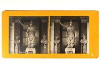 Francia París Museo Del Louvre Estatua Pallas Athena Grecia c1900 Foto Estéreo