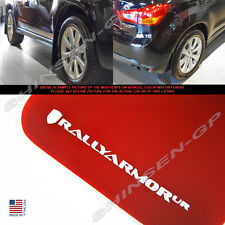 "Rally Armor UR ""Red Mud Flaps w/ White Logo"" for 2010-2015 Outlander Sport"