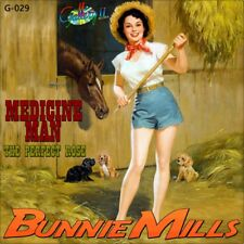 """7"""" Bunnie Mills Medicine Man/The Perfect ROSE Gallery II Hillbilly-Country 1987"""