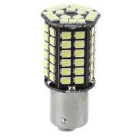 2 X Car 1156BA15S P21W 80 SMD LED Xenon White Tail Brake Signal Light Bulb M4K5