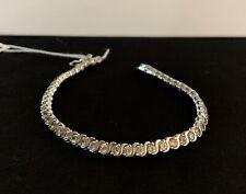 Sterling Silver Cubic Zirconia Tennis Bracelet 925