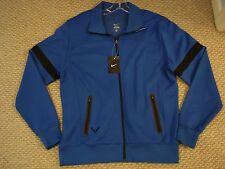 NWT Nike Nadal Vamos Rafa Ace Knit Tennis Jacket Blue Federer 424981-419 Large