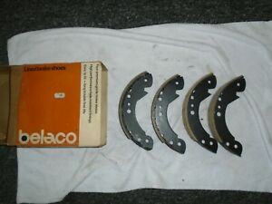 Vauxhall Victor FE, VX1800, VX2300, VX 4/90 FE NOS Belaco Rear Brake Shoes