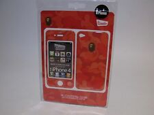 Bathing Ape BAPE Red Camouflage Gizmobies iPhone 4 Rare Supreme Case Skin Skinz