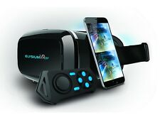 3D VR Brille + Controller virtual reality 360° Video Games für Smartphone bis 6""