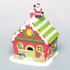 Santa's Workshop Foam Kit - Christmas Eve Box - Xmas Craft Create Display 3D