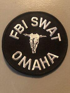 Nebraska  Police - FBI Omaha SWAT Police  NE Police  Patch