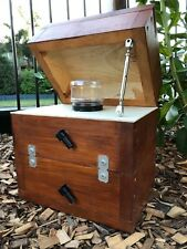 Stingless Native OATH Side Entry | Stained | Bee Hive Honey Jar Design with Roof