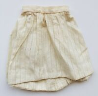 Antique Doll Slip Petticoat Teddy Bear Primitive Clothes Skirt Hand stitched A14