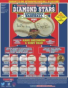 2021 TriStar Hidden Treasures Diamond Stars Autographed Baseball Sealed Box