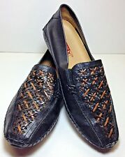 Pikolinos Shoe Womens Black Loafer Driving Moc Size US 8.5 9 EU 39 EUC