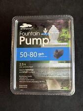Smartpond Fountain Pump 50-80 GPH Model #FP80