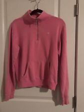 PINK Half Zip Pullover Sweatshirt Sz XS Victoria's Secret Fleece