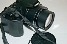 Nikon COOLPIX L120 14.1MP Digital Camera - Black with case and extras
