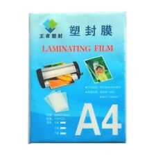 100pc Laminating Film A4 70mic Document Protection Pouch For Office Picture New