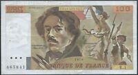 100 FRANCS DELACROIX (1978) R.1 - Billet de banque français (TB+)
