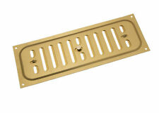NEW 10/ Aluminium Gold Hit And Miss Louvre Vent Ventilation Cover 9 X 3 Inches