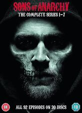 DVD Boxset Sons of Anarchy The Complete Series Seasons 1-7 New Sealed Damaged