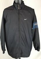 Vintage Nike Jacket Track Nylon Spell Out Colorblock Swoosh Medium M Mens