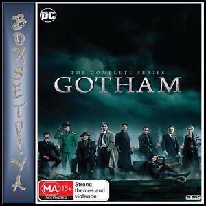 GOTHAM THE COMPLETE SERIES 1 2 3 4 5 AUSTRALIAN RELEASE R4 BRAND NEW DVD BOXSET