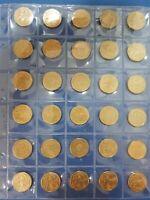 1984 - 2019 AUSTRALIAN $1 ONE DOLLAR 30 COIN starter SET.