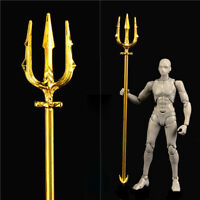 Aquaman Trident 1/12 Prop Model for 1/12 Figure Mini Accessory IN STOCK