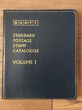 Scott Complete 1974 Standard Postage Catalogue, Volumes I, Ii, Iii