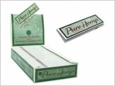 Smoking Rolling Paper Green Pure Hemp 1 1/4 Box of 25 Booklets