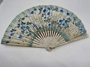 W. Clarkson. London. W. Perruquier & Costumier Hand Fan